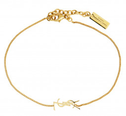 Logo Chain Bracelet by Saint Laurent