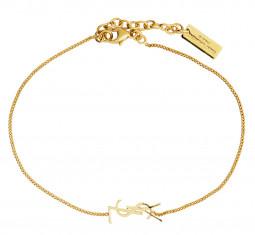 Logo Chain Bracelet by Saint Laurent