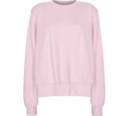 Vanessa Padded Shoulder Sweatshirt by The Frankie Shop