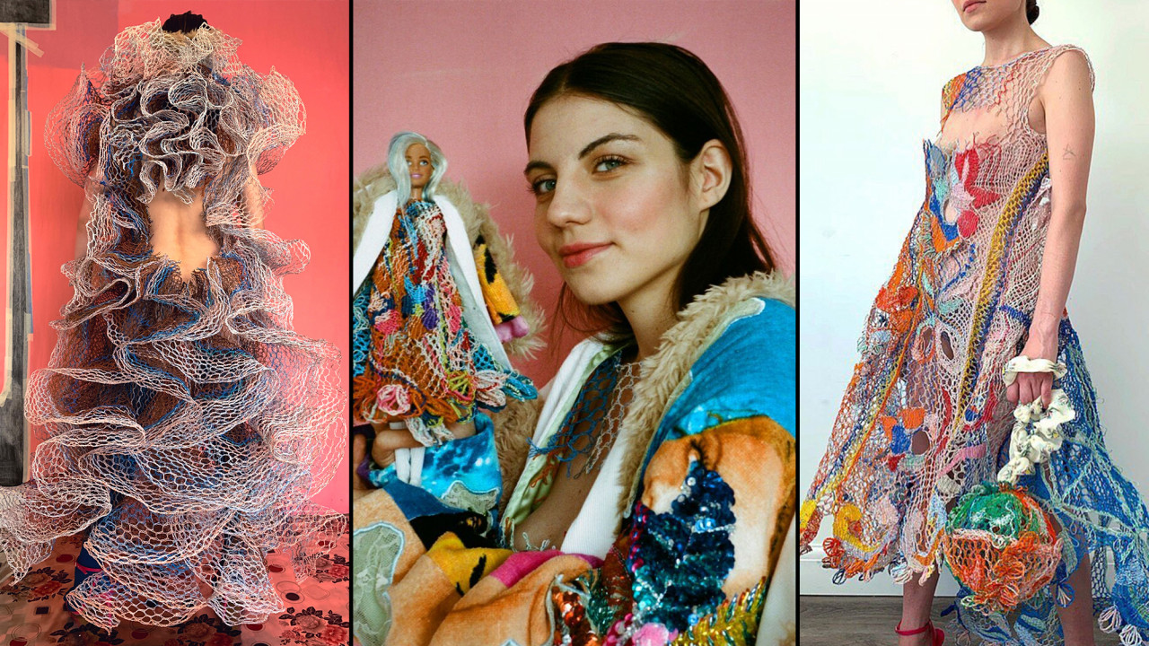 Meet the Designer Making Clothes Out of Discarded Electrical Wire