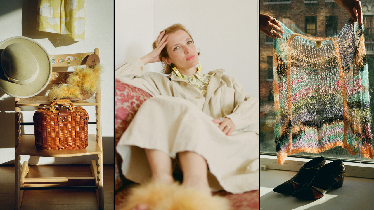 Inside the Closet of Beloved Designer and Vintage Collector Batsheva Hay