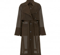 Lois Cotton Trench by Eudon Choi