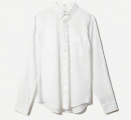 Everlane The Slim Fit Performance Air Oxford Long-sleeve Shirt by
