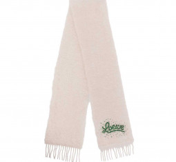 Bead-embellished Mohair-blend Scarf by Loewe