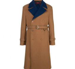 Emerson Two-tone DF Wool DB Trench by Sies Marjan