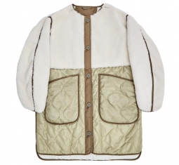 The Reversible Shearling Combo Quilt by Marfa Stance