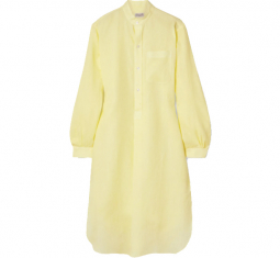 Elysee Oversized Linen Nightdress by Charvet