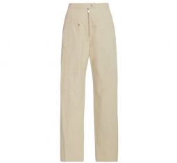 Phil Cotton-blend Straight-leg Pants by Isabel Marant Étoile