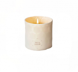 Isle de Nature Pagua Bay Fragrance Luxury Beeswax Candle by