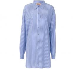 Pinstriped Shirt Dress by Nº21