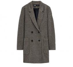 Houndstooth Coat by Zara